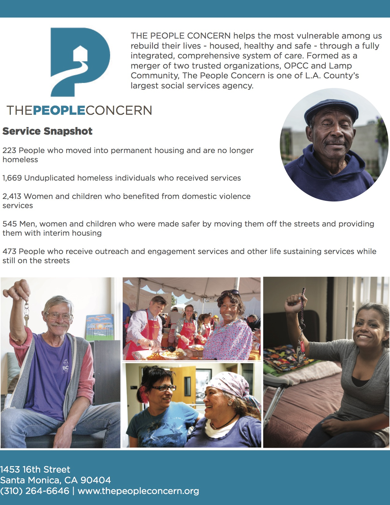 The People Concern Service Snapshot copy